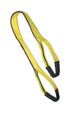 1 X 12 Ft Nylon Polyester Web Lifting Sling Tow Strap 2 Ply Ee2-901 Eye Eye