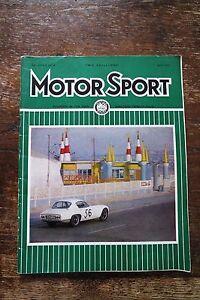 Motor Sport, rivista inglese di automobilismo sportivo, aprile 1963 - Italia - Motor Sport, rivista inglese di automobilismo sportivo, aprile 1963 - Italia