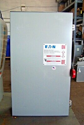 New Eaton 200 Amp Safety Switch Disconnect Fusible 240 Vac 3r Raintight Dh324rfk