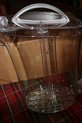 Pampered Chef Quick Stir Pitcher Item #2278 MADE IN USA FREE SHIPPING! 2 qt