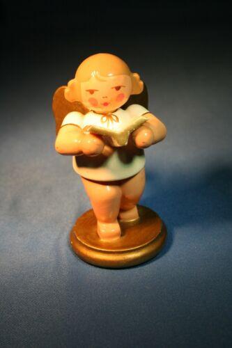 ERZGEBIRGE Ulbricht Musical Angel Germany Christmas Figurine Singing #2