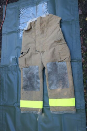 Globe Firefighters Pants Trouser Turnout Gear Fireman Sz 36 Length 28