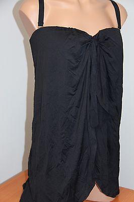 NWT Ralph Lauren Swimsuit Bikini 1 piece Plus Size 18W Black