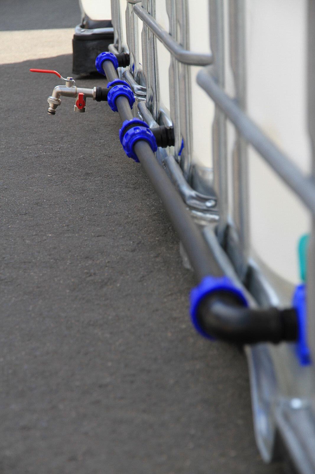 Verbindungsset für 3 Wassertanks - ideale, super stabile Verbindung Top #2013