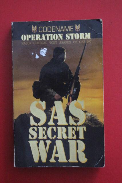 *RARE* SAS SECRET WAR: OPERATION STORM - SAS IN OMAN by Tony Jeapes (PB, 2000)