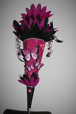 XXL Schultüte,Zuckertüte, Einschulung,Schmetterling, monstermäßig schön!!! NEU ! - Nicht Zucker