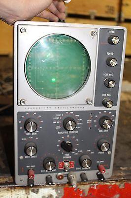 Heathkit Io-12 Oscilloscope 5 5 Mhz