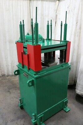 7 Ton Bradburyairam 4 Post Pneumatic Cutoff Press Yoder 66984