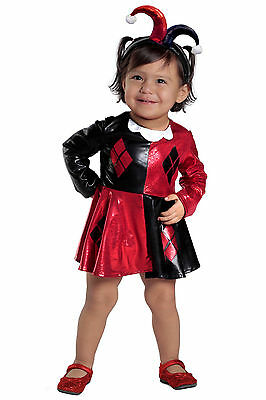 Harley Quinn Baby (Harley Quinn™ Costume DC Comics Super Hero Girls Baby 3 6 9 12 18 24 months 2T 2)