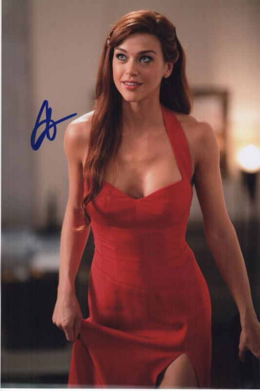 ADRIANNE PALICKI SIGNED PHOTO 8X12! AUTOGRAPH! SEXY CLEAVAGE FRIDAY NIGHT LIGHTS
