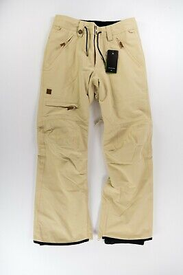 Quiksilver Mens S SM Elmwood Snow Pants SKI SNOWBOARD WINTER 15K SHELL DRYFLIGHT
