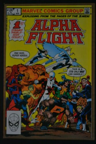 ALPHA FLIGHT  # 1 : FINE/VERY FINE : AUGUST 1983 : MARVEL COMICS.