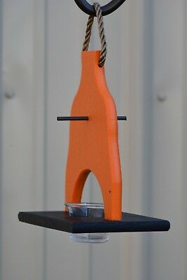 Poly-wood Bird Deluxe Oriole Feeder, Nectar, Jelly, and Orange Lovers