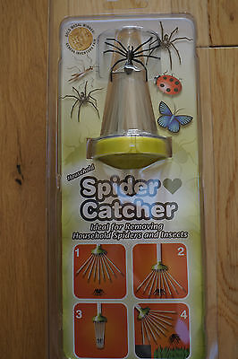 SPIDER CATCHERS X 12. 6 X PINK.6 X LIME GREEN.BOXED,PACKAGED.BRAND NEW.UK STOCK.