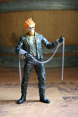 MARVEL LEGENDS Select CUSTOM Realistic GHOSTRIDER ACTION FIGURE 6-7 inch