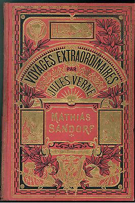VERNE JULES MATHIAS SANDORF HACHETTE 1931 VOYAGES EXTRAORDINAIRES ILL. BENETT