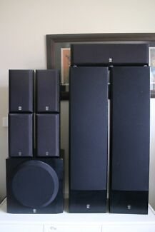 YAMAHA NS SERIES 7.1 SPEAKER SYSTEM WITH SUBWOOFER Chadstone Monash Area Preview