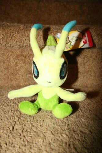 "Pokemon Mini 5"" Plush Series 13 - Celebi Serebii Stuffed Animal"