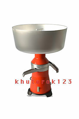 Dairy Cream Electric Centrifugal Separator 80lh New 15 Metal 120v