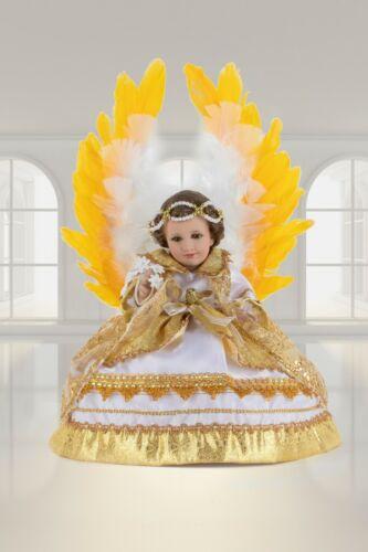 Ropon Arcángel Gabriel, Traje de Niño Dios. Bebé Jesús Outfit