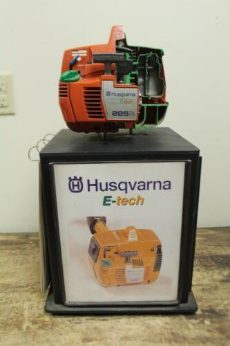 RARE VINTAGE HUSQVARNA CHAINSAW CUTAWAY DISPLAY SIGN ADVERTISEMENT