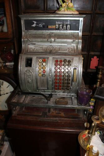 1912 National Cash Register, Nickel Plated, yellow brass, M# 1064, S# S175815K
