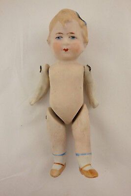 Antique Limbach German Jointed Bisque Doll P23 Clover Mark 5