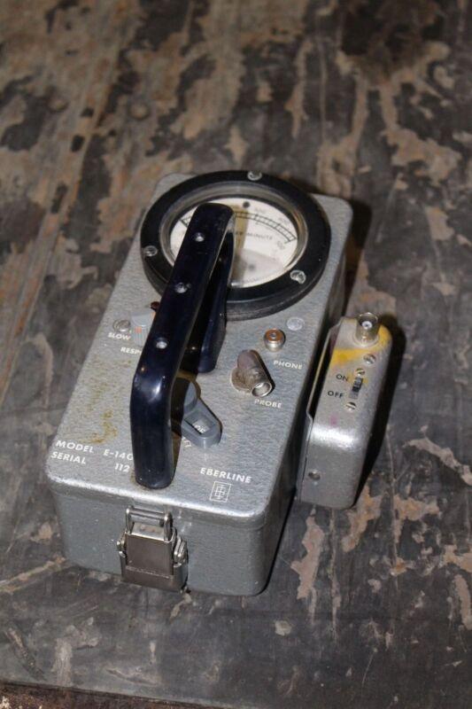 Eberline Geiger Counter Model E-140