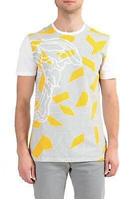 Versace Collection Men's Multi-Color Graphic Short Sleeve Crewneck T-Shirt