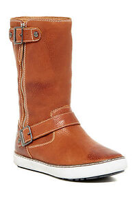 NEW UGG AUSTRALIA Andra Brandy Leather Boots - 9.5 - Sheepskin Wool - USD$200
