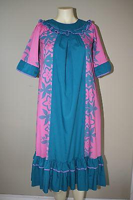 Older Girl Dresses (HAWAIIAN MUUMUU HULA MAMO HOWELL SUMMER DRESS OLDER GIRL SIZE 10-12-14)