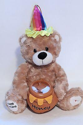 Schurman Retail Group Singing Light Up Happy Birthday Bear