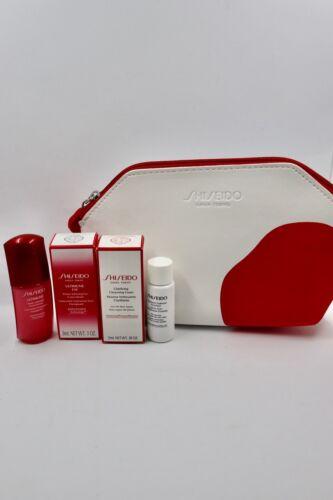 Shiseido Set Power Infusing Concentrate Eye Cleansing Foam Kosmetiktasche