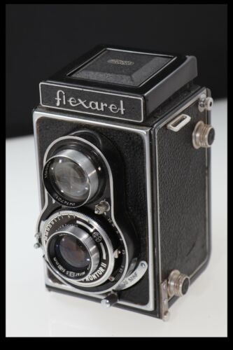 200775 MEOPTA FLEXARET TWIN LENS CAMERA