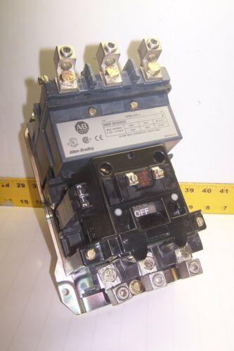 ALLEN BRADLEY SIZE 3 CONTACTOR 90 AMP 600 VAC 50 HP 120V COIL  500F-DOD930