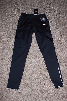 Womens Nike Dri Fit Shield Running Tights Size Small NWT $90 Black 693183 010 ]]