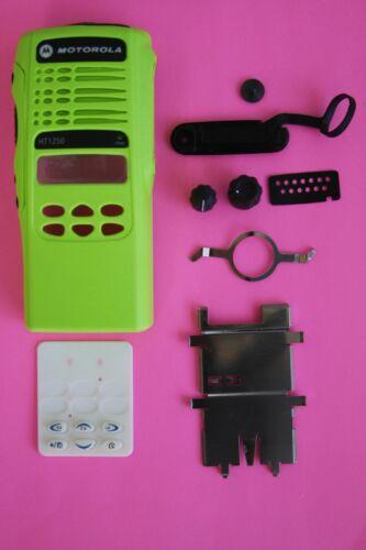GREEN Motorola HT1250 16 Channel (128 total) Refurb Housing Kit