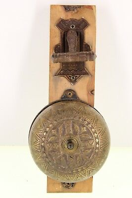 - Vintage EastLake Style Door Knocker Bell Mission Hardware Art Crafts