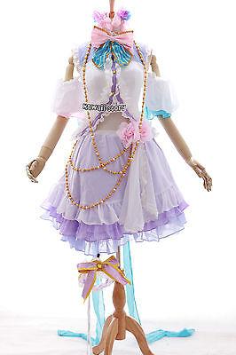 H-3445 Gr M Love Live Nico Yazawa Valentine Angel Cosplay Kostüm Set costume (Yazawa Nico Kostüm)