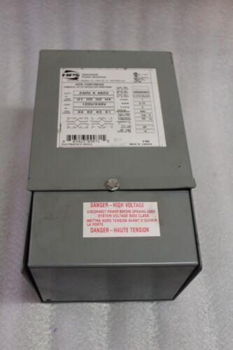 Hammond Transformer C1FC75LES   0.75 KVA  240V x 480V  HPS Fortress