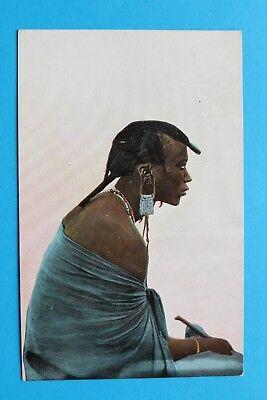 stafrika Afrika DOA 1910-18 Masai Krieger Massai Kleidung ++ (Krieger Kleidung)