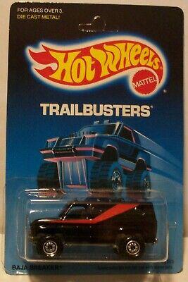 Hot Wheels 1988 Baja Breaker TRAILBUSTERS Black CT Van A Team NIP