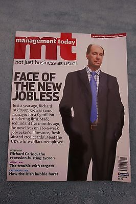 Management Today Magazine: June 2009, White Collar Unemployed