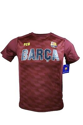 d992850d177 FC Barcelona Soccer Official Youth Poly Jersey P001 Rhinox -YL