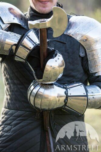 Medieval Reenactment Armor Gauntlets; Men