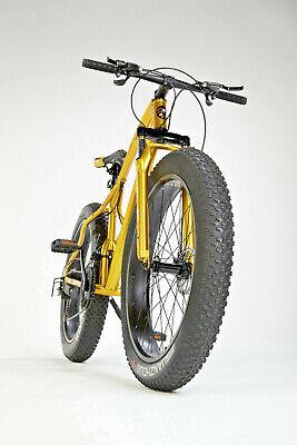 "Full Suspension Mountain Bike Bicycle Men/Women Fat Tire 26"" MTB - GOLD"