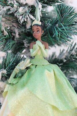 Disney Parks Prinzessin und Frosch Tiana Designer Kleid Ornament 6