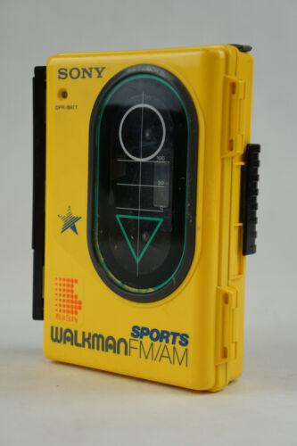 Vintage SONY Walkman Sports WM-F45 AM/FM Cassette Player Clean!