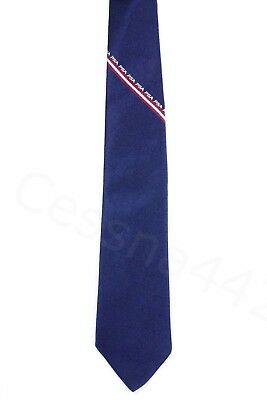 PSA Vintage Necktie Navy Blue Pacific Southwest Airlines New Crew Staff Gift