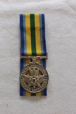 3 Canada - Canadian, The Police Exemplary Service Full Size Medal a tailors copy